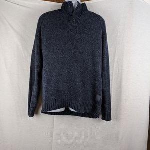 Original Weatherproof Vintage Blue Knit Sweater